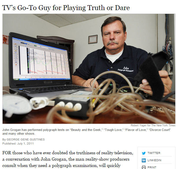Los Angeles polygraph test accuracy and prices