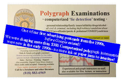 Watch the polygraph test in Los Angeles for bst reliability