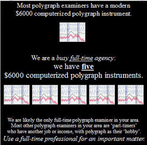 california polygraph prices