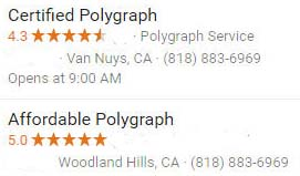 Los Angeles' best polygraph test