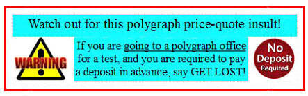 polygraph test price quote Los Angeles