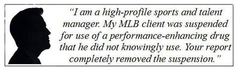 sports agent polygraph testimonial
