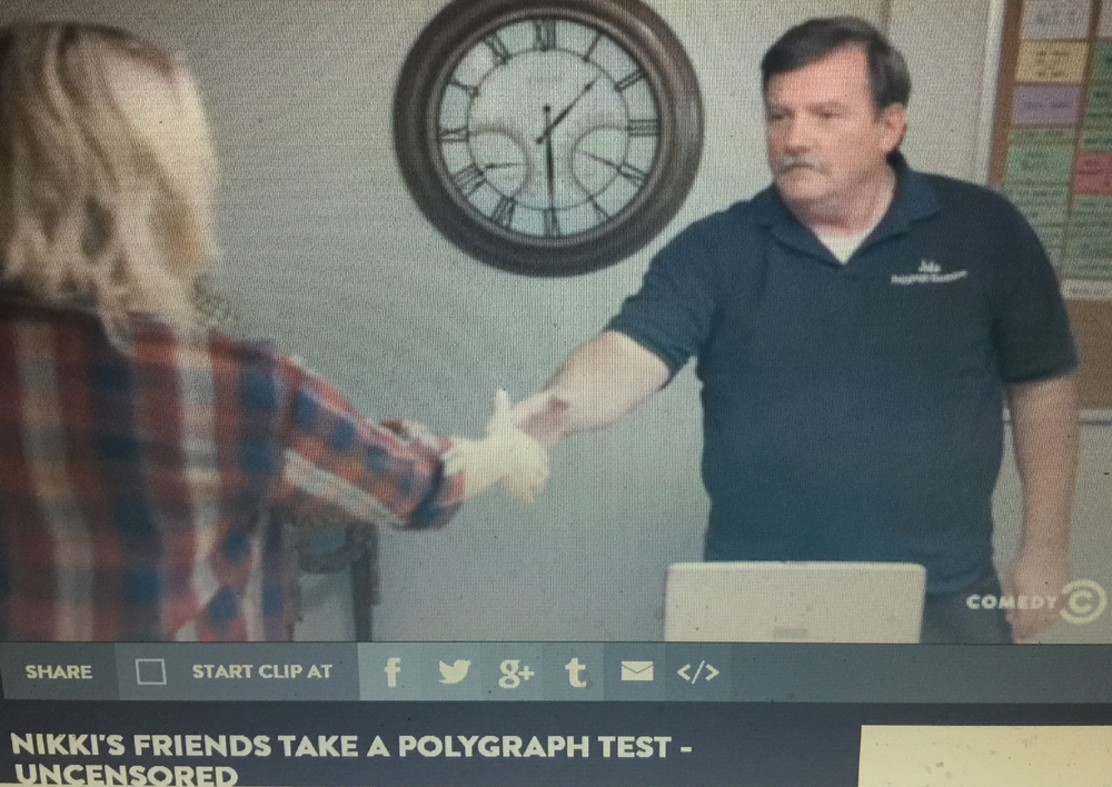 polygraph test on TV